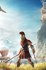 Preview iPhone wallpaper Assassin's Creed: Odyssey, E3 2018