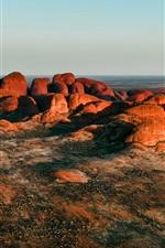 iPhone обои Австралия, Ката Тьюта, Национальный парк Улуру-Ката Тьюта, горы