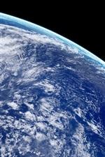 Aperçu iPhone fond d'écranBelle Terre, planète bleue, espace