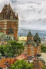 Canada, Quebec, Chateau Frontenac, hotel