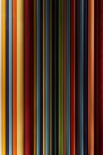 Preview iPhone wallpaper Colorful layers, abstract background