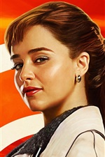 Preview iPhone wallpaper Emilia Clarke, Solo: A Star Wars Story