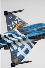 Preview iPhone wallpaper F-16 fighter flight