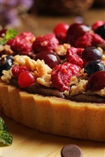Fruit pie, berries