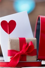 Preview iPhone wallpaper Gift, love, mailbox, romantic