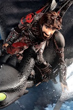 Preview iPhone wallpaper How to Train Your Dragon: The Hidden World