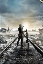 Preview iPhone wallpaper Metro: Exodus, games 4k