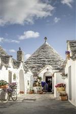 Puglia, Alberobello, Italy, houses