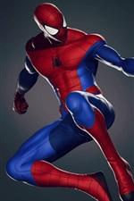 Preview iPhone wallpaper Superhero, comics, Peter Parker, Spider-man