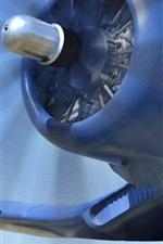 Preview iPhone wallpaper Vought F4U Corsair, blue aircraft