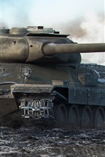 Preview iPhone wallpaper World of Tanks, popular net games