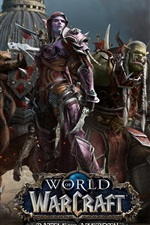 Preview iPhone wallpaper World of Warcraft: Battle for Azeroth, hot game