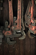 Wrenches, work tools