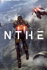 Anthem, video game, robot, action to flying