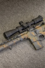 Assault Rifle AR-15, weapon