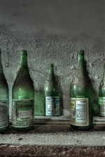 Preview iPhone wallpaper Bottles, dust