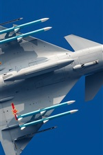 Preview iPhone wallpaper Chinese aircraft, J-10B