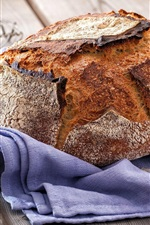 Preview iPhone wallpaper Chocolate bread, food