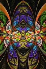 Padrões coloridos, arte de fantasia