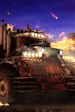 Preview iPhone wallpaper Crossout, devil truck, net game