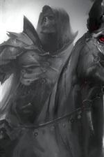 Alma Negra, cavalo preto, cavaleiro, horror