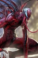 Preview iPhone wallpaper Deadpool, monster, horror, art picture