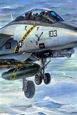 Duplo lutador multi-função F-14A