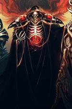 Preview iPhone wallpaper Fantasy art, warriors, scepter
