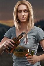 Far Cry 5, menina loira