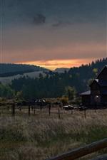 iPhone fondos de pantalla Far Cry 5, granja, pueblo