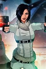 Fear Effect, PS games, two girls, gun