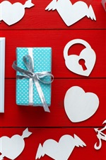 Happy Valentines Day, gifts, love hearts