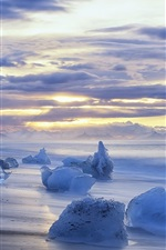 Ice, sea, snow, winter