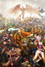 iPhone fondos de pantalla League of Legends, personajes del juego