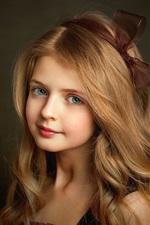 Lovely blonde little girl