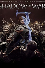 Preview iPhone wallpaper Middle-earth: Shadow of War, Xbox game