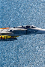 Preview iPhone wallpaper Multi-role fighter, flight, sea