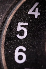 Preview iPhone wallpaper Phone dial board, numbers