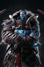 Preview iPhone wallpaper Quake Champions, warrior