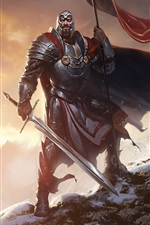 Preview iPhone wallpaper Rise of the Overlords, warrior