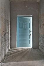 Vorschau des iPhone Hintergrundbilder Zimmer, Tür, Staub
