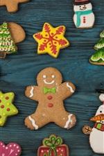 Alguns biscoitos, natal