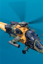 Preview iPhone wallpaper T-129B Lightweight Attack Helicopter