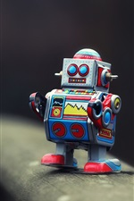 Preview iPhone wallpaper Toy robot