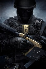 Preview iPhone wallpaper Ubisoft game, Tom Clancy's Rainbow Six