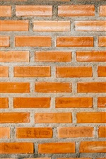 Preview iPhone wallpaper Wall, bricks, texture background
