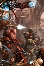 Preview iPhone wallpaper Warhammer 40000, art picture