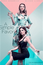 Preview iPhone wallpaper Anna Kendrick, Blake Lively, A Simple Favor