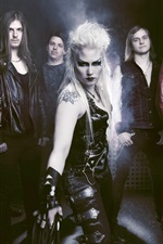 Preview iPhone wallpaper Battle Beast, Finland Heavy metal band