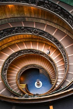 Bramante Staircase, spiral, Vatican Museums